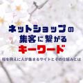 ネットショップの集客に繋がるキーワード -桜を例えに人が集まるサイトとその仕組みとは-