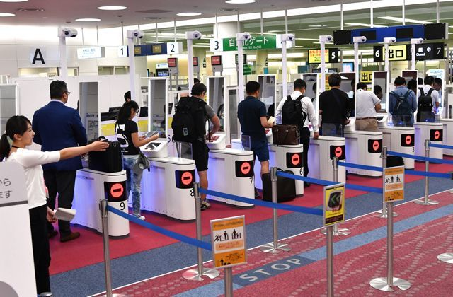 関西国際空港_顔認証ゲート